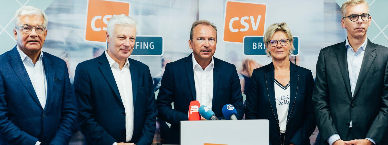 Die CSV fordert die Regierung auf, bis Ende des Jahres konkrete Maßnahmen auf den Weg zu bringen, um die Sicherheitslage im Land zu verbessern.