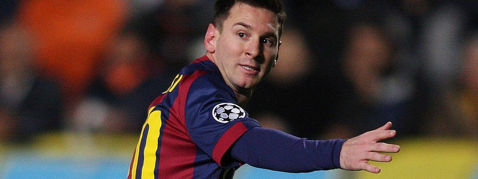 """Com um hat-trick em Chipre, Lionel Messi comanda agora a """"artilharia"""" na Champions"""
