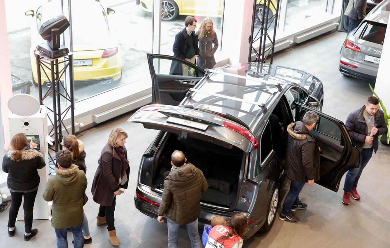 90 concessionários do Luxemburgo abriram as portas para o festival do automóvel