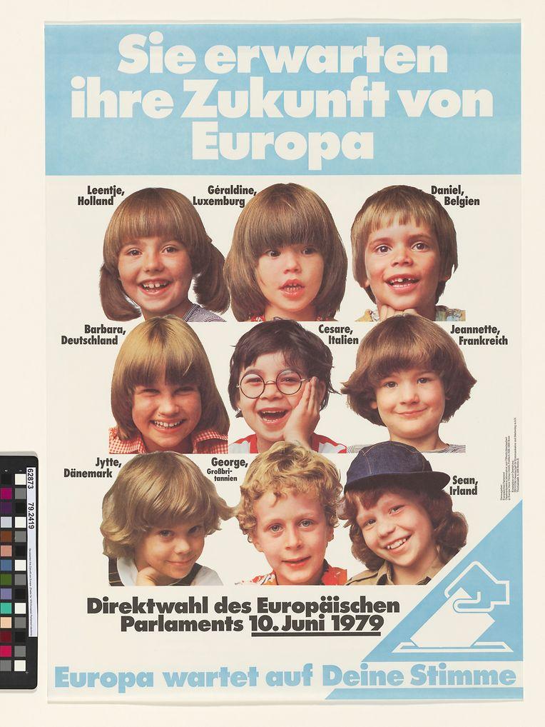 Géraldine aus Luxemburg und ihre Kumpanen als Werbemotiv.