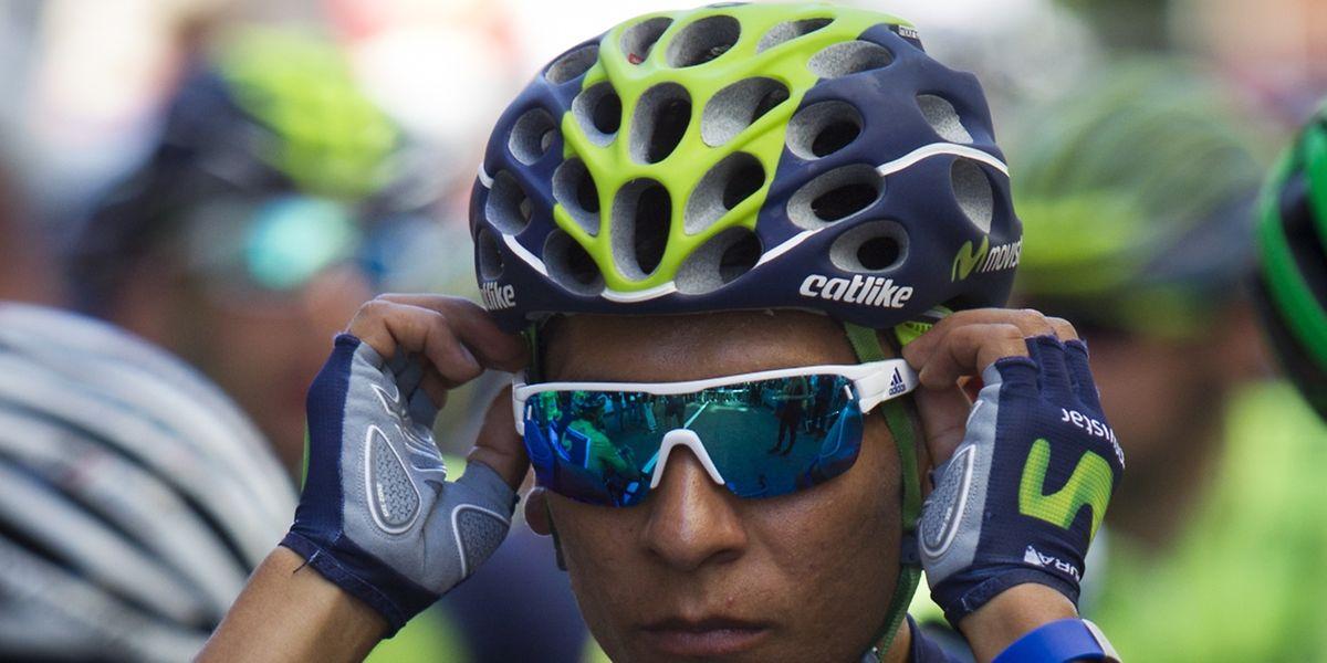 Nairo Quintana (Movistar) a pris un premier ascendant sur ses rivaux du Tour d'Espagne en s'emparant du maillot rouge de leader au sommet de La Camperona.