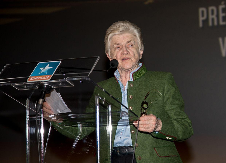 Festivalpräsidenten Colette Flesch.