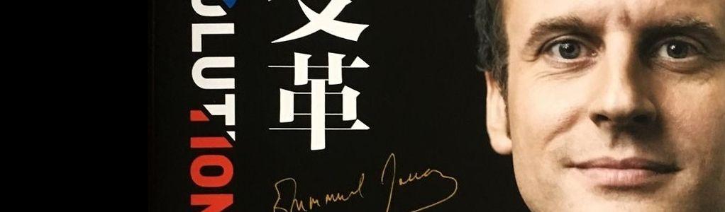 A l'occasion de la visite d'Emmanuel Macron à Pékin, son éditeur local présente la version chinoise de son livre «Révolution».