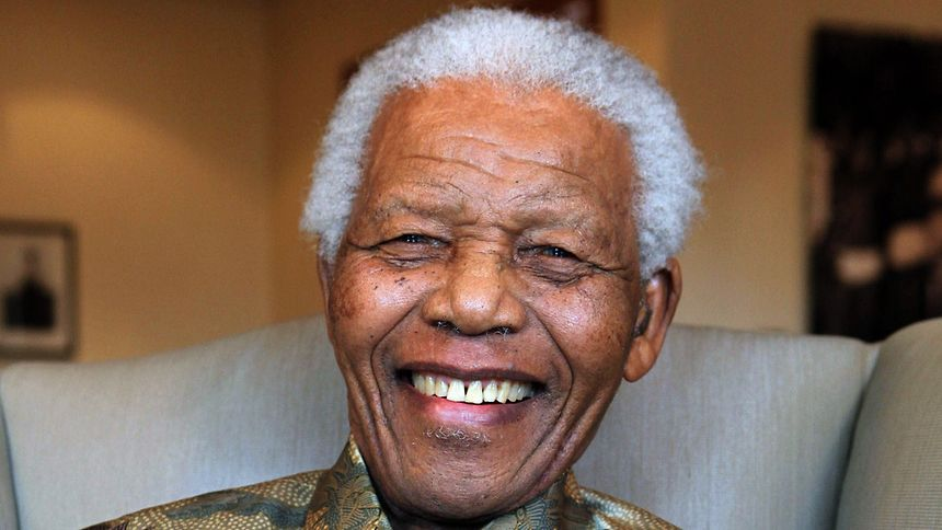 Nelson Mandela wurde am 18. Juli 1918 geboren.