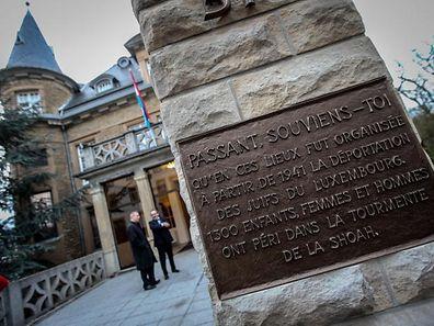 Le nouveau «Comité pour la mémoire de la Deuxième Guerre mondiale» se réunit à la Villa Pauly, ancien siège de la Gestapo à Luxembourg.