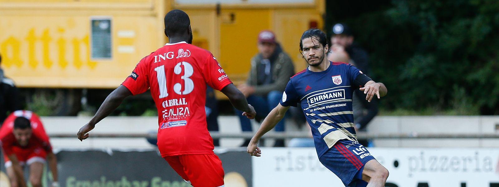 Pour la première fois de leur carrière Yvandro Borges (en rouge) et Diogo Pimentel (en bleu) rejoignent l'équipe nationale.
