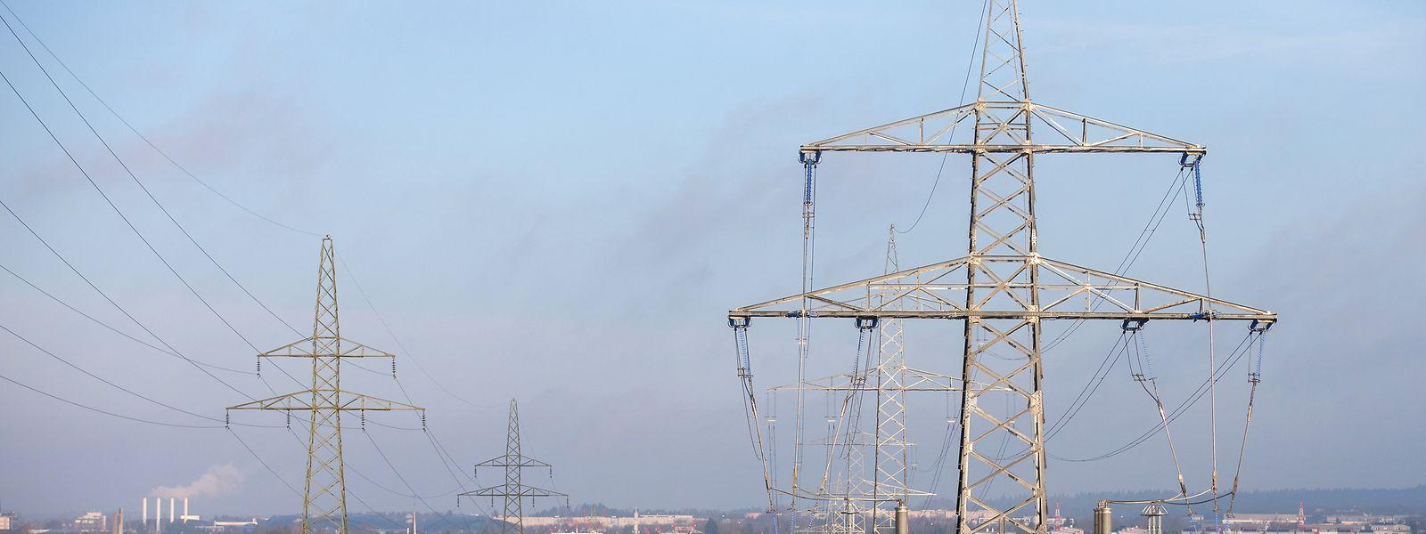 Dans le nord-mosellan , la rupture de la ligne haute tension a privé d'électricité plusieurs villages autour de Zoufftgen.