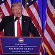 Die Pressekonferenz findet im Trump Tower in Manhattan statt.