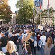 Les habitants ont été nombreux à se mobiliser samedi sur la place Clairefontaine.