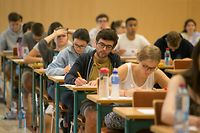 29.5.2018 Luxembourg, Limpertsberg, Lycée Athenée, Premières Examen 2018, examens 1ière  photo Anouk Antony