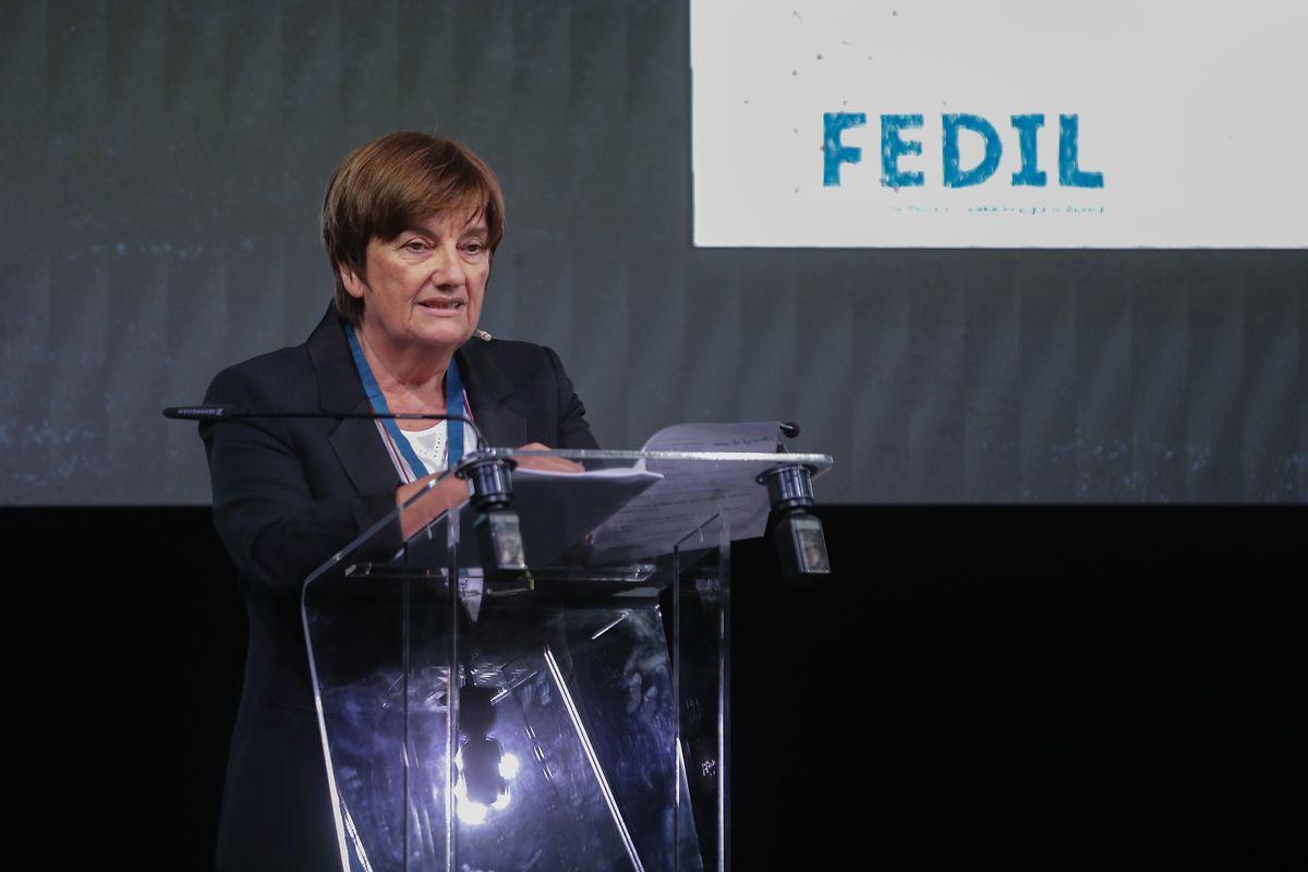 La présidente de la Fedil Michèle Detaille