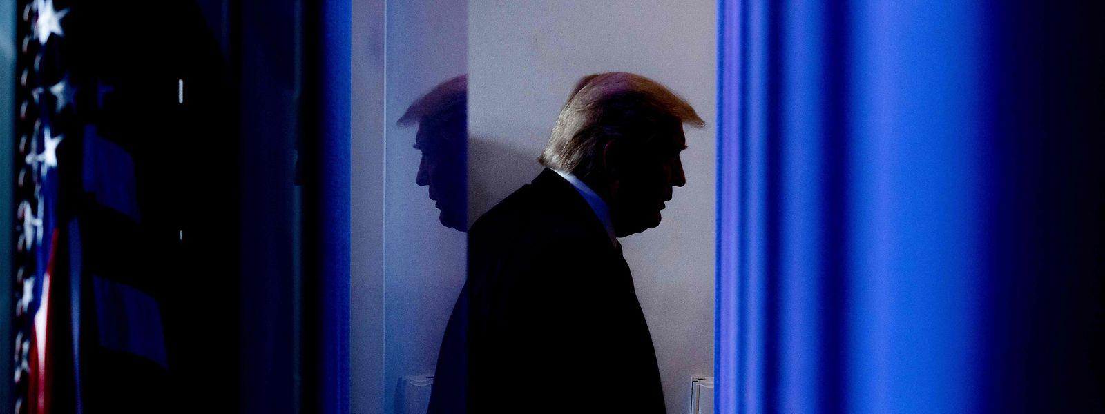 """""""Ich denke, einige Dinge sind zu hart"""", sagt US-Präsident Donald Trump."""