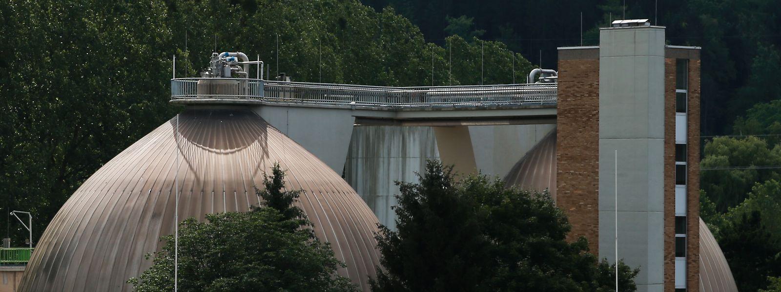 Die Kläranlage in Beggen nimmt die Abwässer von mehr als 200.000 Einwohnern auf.