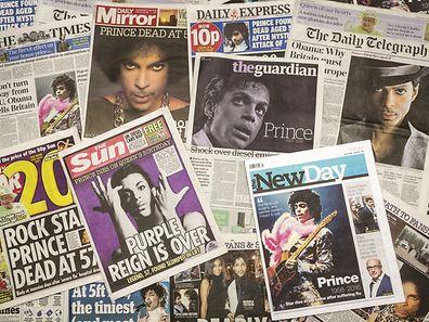 Mort il y a un mois, le chanteur Prince a fait la Une de la presse dans le monde entier.