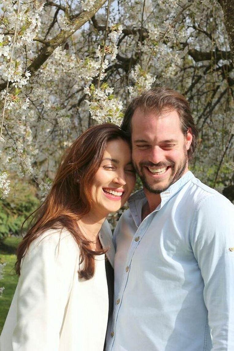 Prinz Félix und Prinzessin Claire