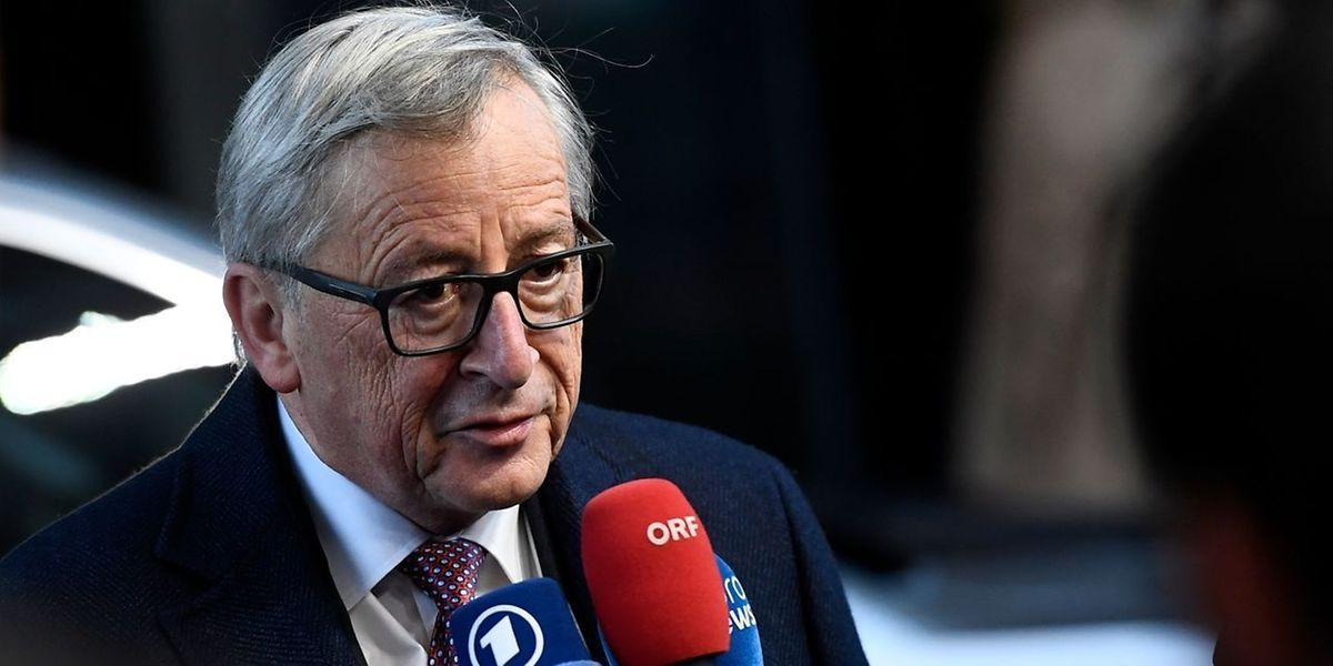EU-Kommissionschef Jean-Claude Juncker sagte am Freitag, er hoffe auf eine Einigung mit Großbritannien bei den strittigen Austrittsfragen bis Dezember.
