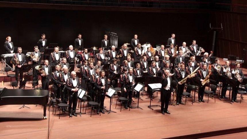 La musique militaire grand-ducale à la Philharmonie