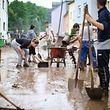 Les inondations ont provoqué de très gros dégâts dans le pays.