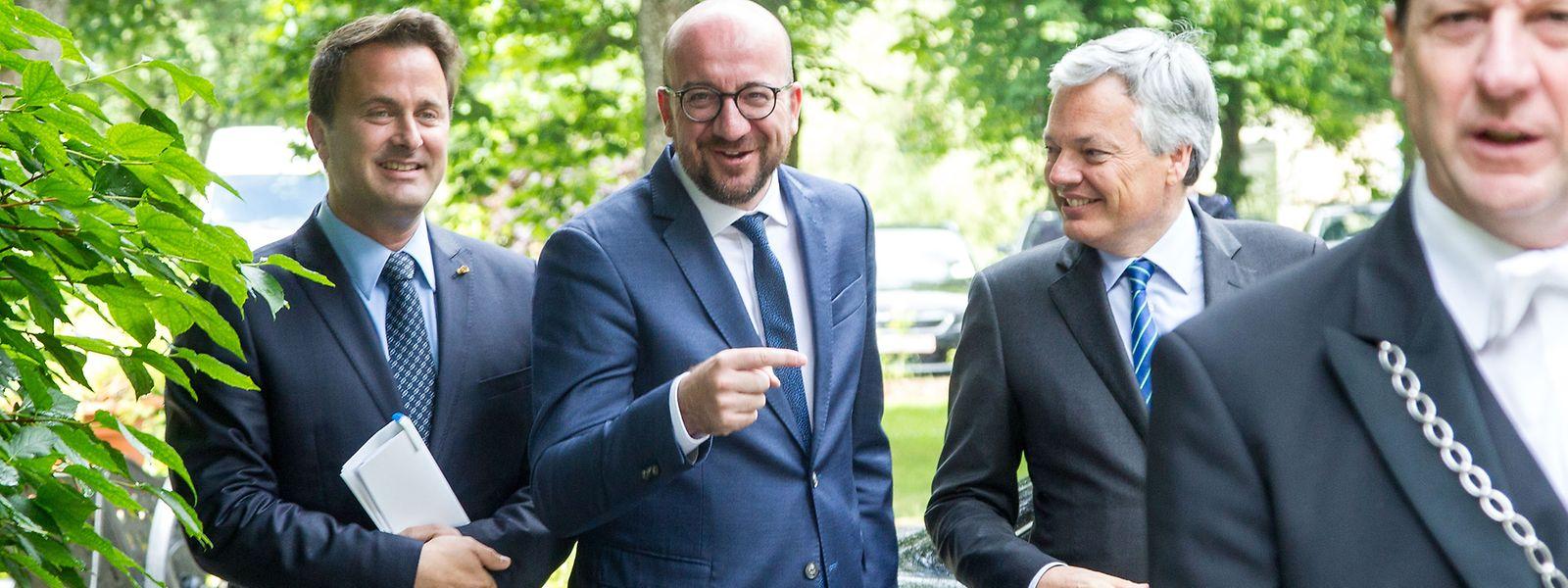 La dernière réunion intergouvernementale belgo-luxembourgeoise avait eu lieu en 2016. Mais cette fois Xavier Bettel rencontrera un autre Premier ministre que son ami, Charles Michel.