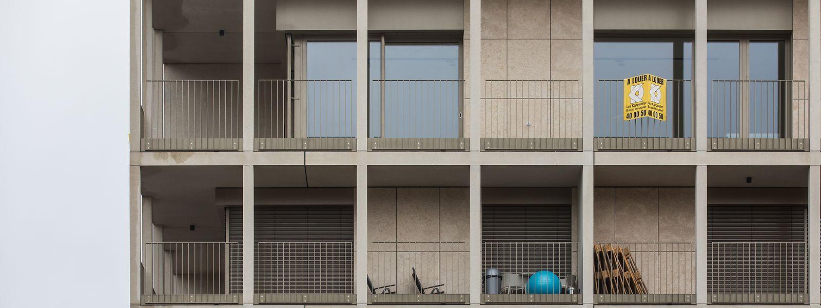 Selon les estimations du gouvernement, 6% des logements au Luxembourg seraient inoccupés. Soit quelque 14.600 unités.