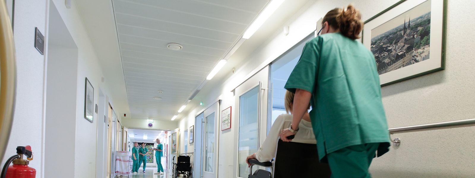 Selon les derniers chiffres communiqués par le ministère de la Santé, la part de personnel infirmier étranger est plus importante que celle des Luxembourgeois.