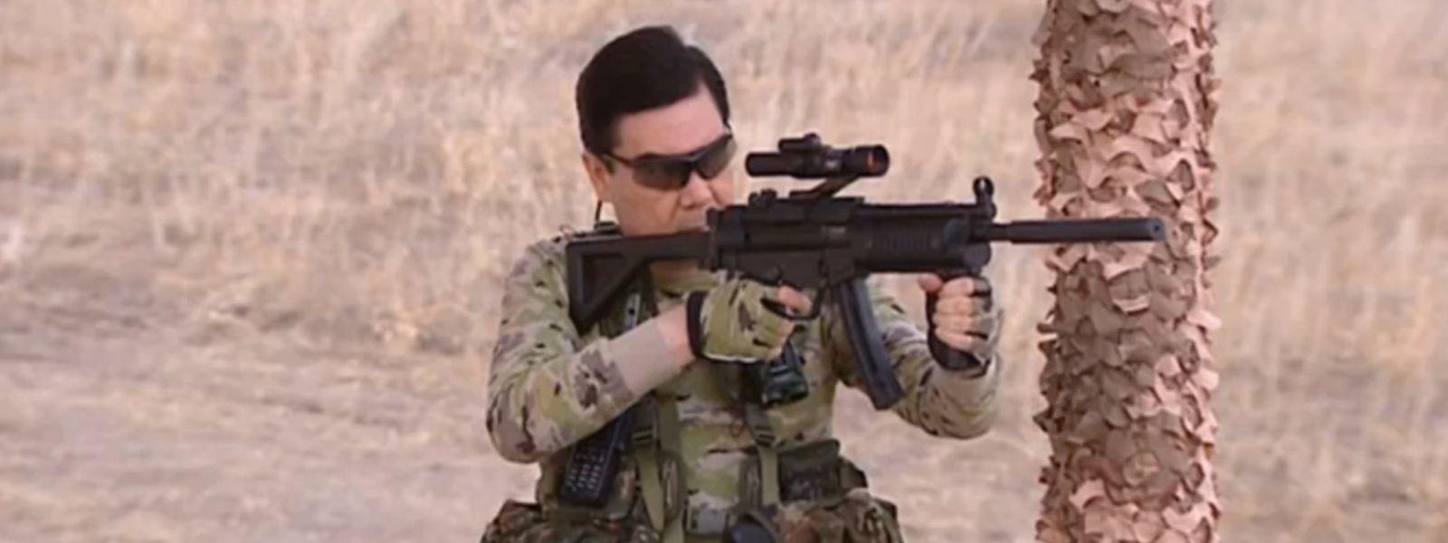 Turkmenistans Präsident Gurbanguly Berdimuhamedow ist nicht zu bremsen.