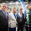 Umweltministerin Carole Dieschbourg (r.) war Europas Stimme beim Klimagipfel in Paris.
