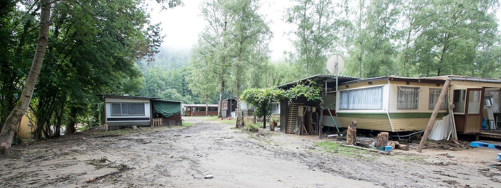 Heftige Regenfälle sorgten Anfang Juni im Müllerthal für zerstörerische Überschwemmungen.