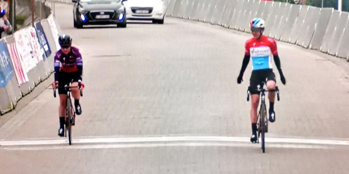 Landesmeisterin Christine Majerus und Teamkollegin Amy Pieters sprinten nicht um den Sieg.