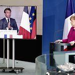 Alemanha e França propõem 500 mil milhões para Fundo de Recuperação