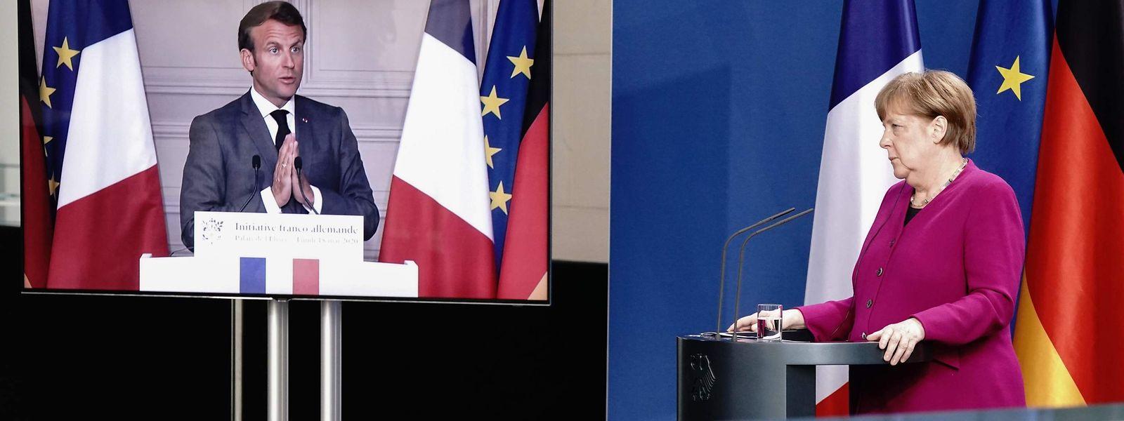 Le couple franco-allemand Macron-Merkel prend les devants pour remobiliser l'unité européenne.