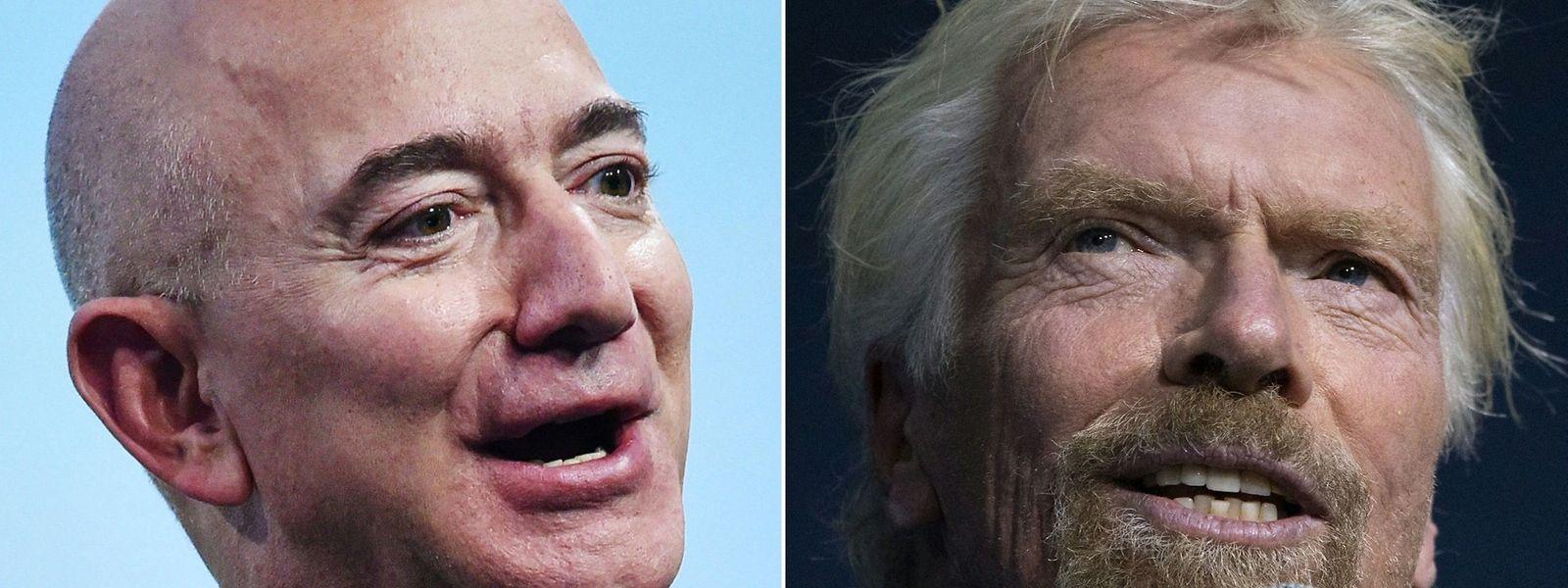 Jeff Bezos et Richard Branson n'hésiteront pas à enfiler leur tenue de spationaute pour prouver au monde que l'espace est désormais accessible à (presque) tout le monde.