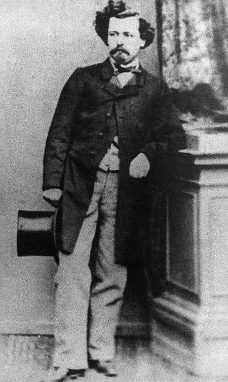 Edmond de la Fontaine (Dicks) in jungen Jahren in Remich.