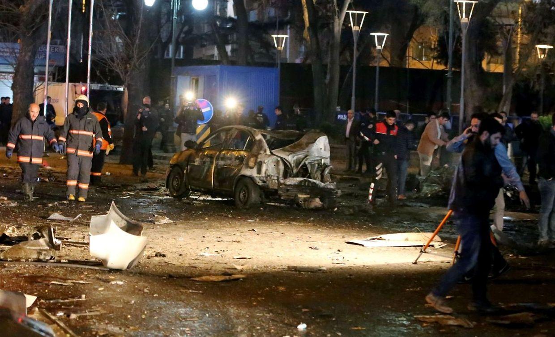 In der türkischen Hauptstadt Ankara hat es am Sonntagabend eine schwere Detonation gegeben.