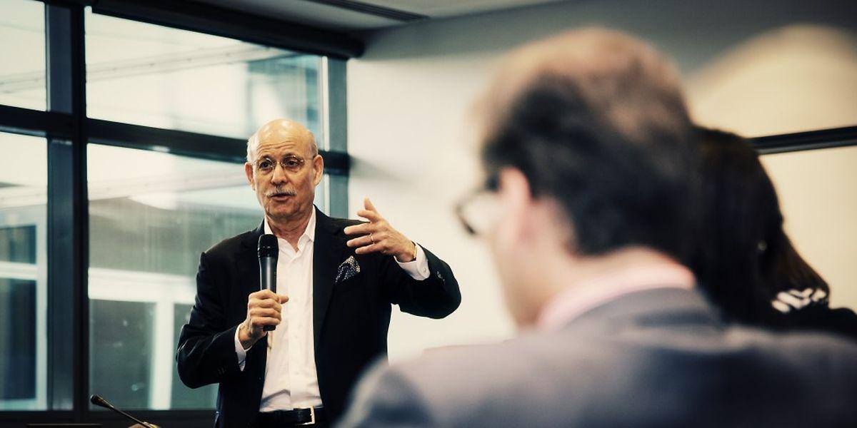 Jeremy Rifkin war im Mai in Luxemburg und hörte sich die Vorschläge der hiesigen Experten an.