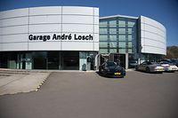 Garage Andre Losch,Porsche Center.Foto:Gerry Huberty