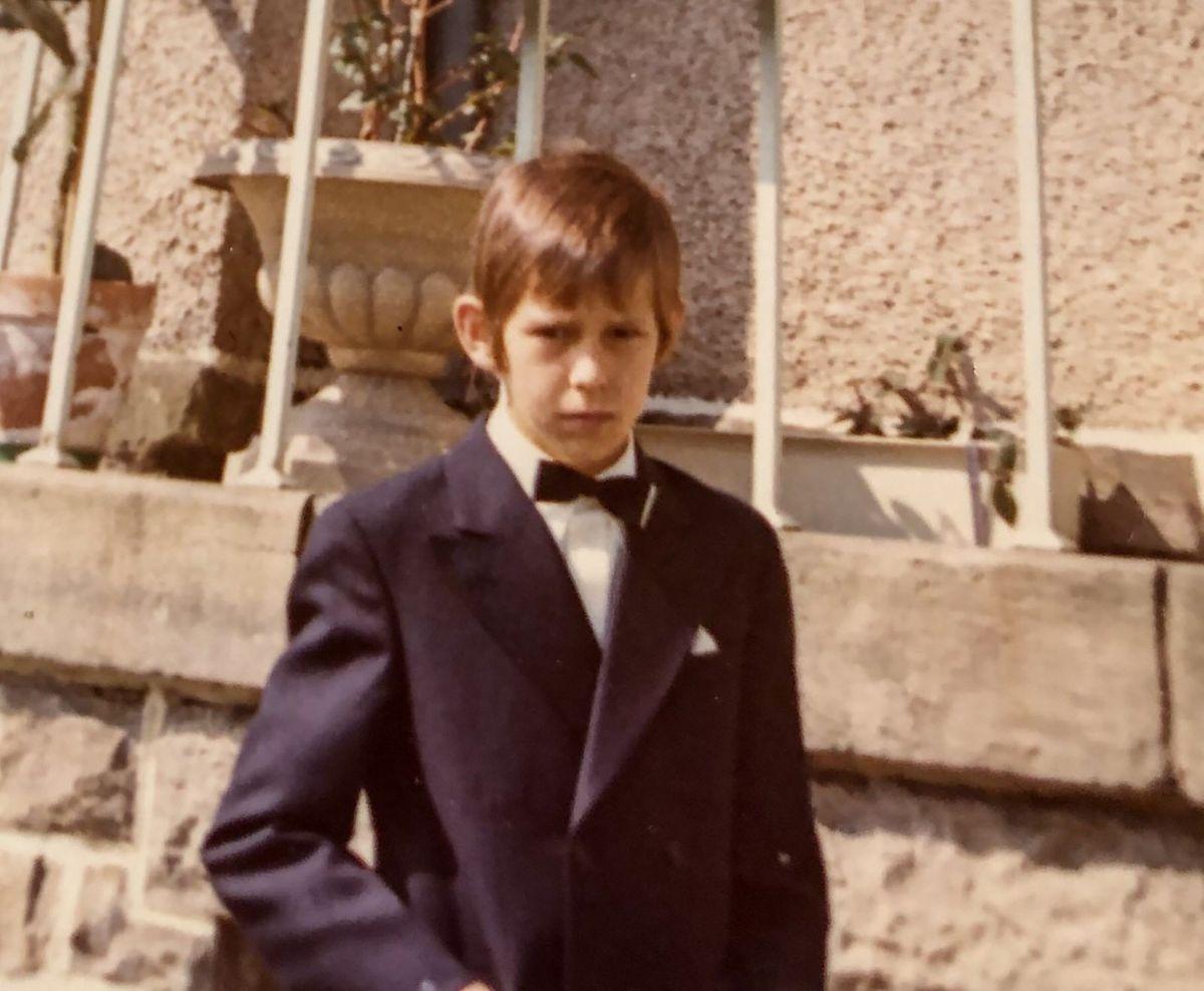 Denis Mees im Alter von 9 Jahren.