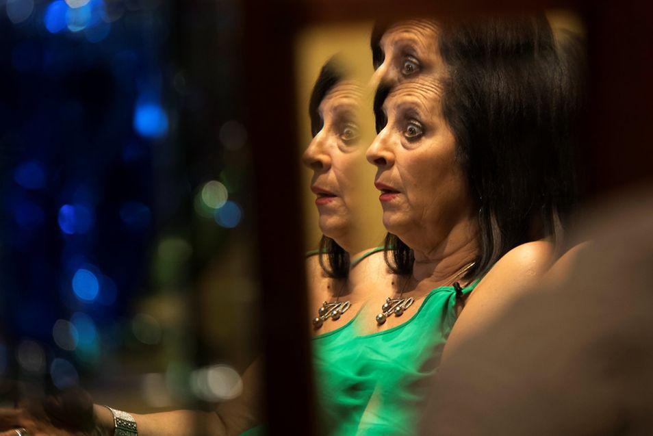 Maria Pilar Abel behauptet, die Tochter von Salvador Dali zu sein.