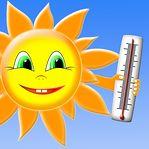 Alerta amarelo: Máxima pode chegar aos 32 graus amanhã