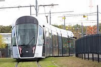Newsdesk, Illustration Tram, Luxtram, Foto: Chris Karaba/Luxemburger Wort