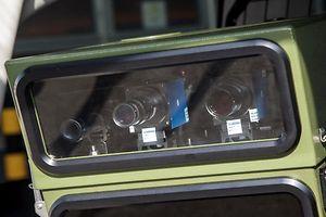 14.3.Bartringen / Mobiles Radargeraet  / Polixce de la Route / Verkehrspolizei / Radar / Radageraete /Foto:Guy Jallay