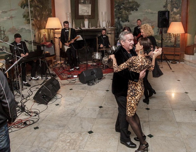 """""""T Dansant"""", Serge Tonnar et Legotrip à l'Hôtel Cravat de Luxembourg."""