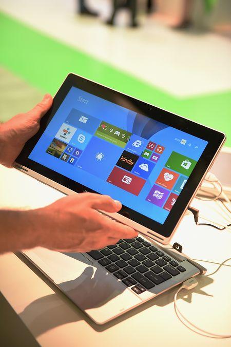 Bildschirme von Detachables lassen sich bei Bedarf vom Rest des Geräts trennen und als Tablet nutzen.