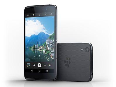 """Für seinen sicherheitsbetonten 5,2-Zoll-Androiden """"DTEK50"""" hat Blackberry eine mittlere Preisklasse gewählt."""