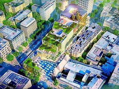Der erste Teil des neuen Mega-Komplexes soll im Juni 2018 eröffnen.