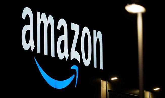 Amazon's Brandenburg sorting center in Germany shown last December.