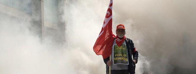 Entre 55.000 et 70.000 personnes ont défilé dans les rues de la capitale belge.