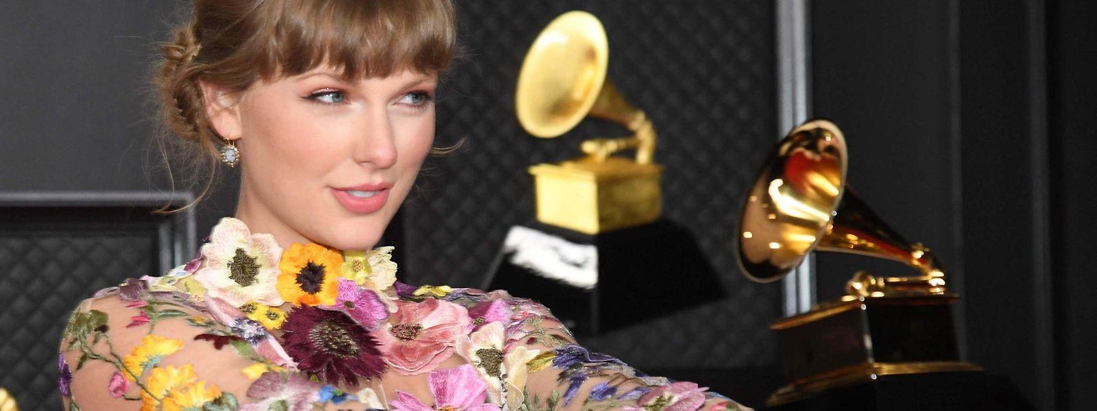Taylor Swift foi uma das premiadas.