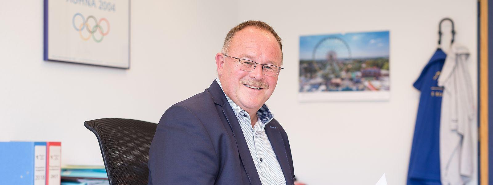 Romain Schneider ist seit 2009 Sportminister.