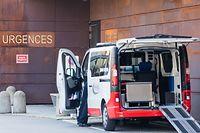 Lokales, CHEM, Centre François Baclesse, Krankenhaus, Urgences, Notaufnahme, Coronavirus, Covid-19, Centre Hospitalier Emile Mayrisch, Foto: Lex Kleren/Luxemburger Wort